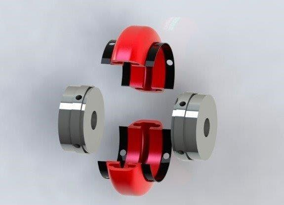Acoplamento elástico flexível