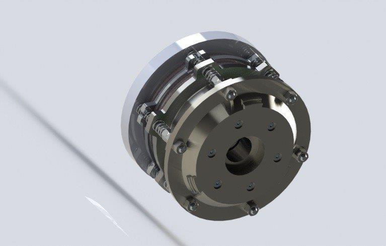 Freio eletromagnético para motores