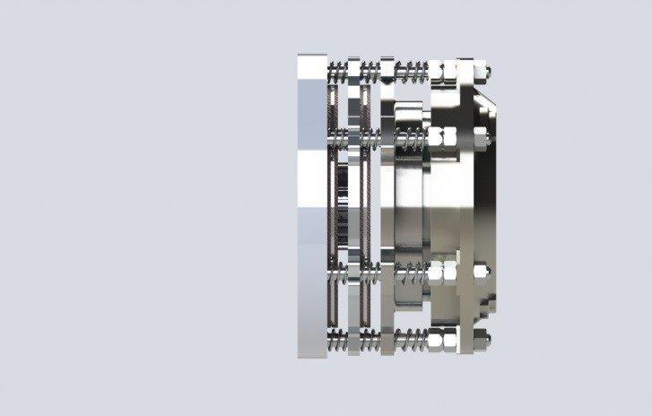 Freio eletromagnético industrial